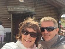 Anja & Ole am Jaufenpass